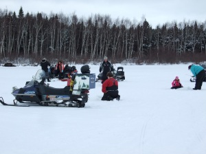 Ice Fishing - Winter Carnival 2012